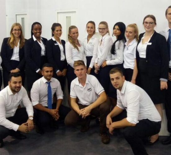 Cooles Team auf der EMO 2017
